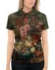 """Рубашка Поло с полной запечаткой """"Цветы (Ян ван Хёйсум)"""" - картина, живопись, ян ван хёйсум"""