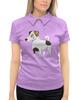 """Рубашка Поло с полной запечаткой """"ДЖЕК РАССЕЛ.СОБАКА"""" - майкл джексон, щенок, собака, животное, рассел"""