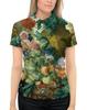 """Рубашка Поло с полной запечаткой """"Фрукты и цветы (Ян ван Хёйсум)"""" - картина, живопись, ян ван хёйсум"""