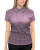 """Рубашка Поло с полной запечаткой """"Женский дизайн, корректирующий фигуру"""" - девушка, женщина, орнамент, абстракция, иллюзия"""
