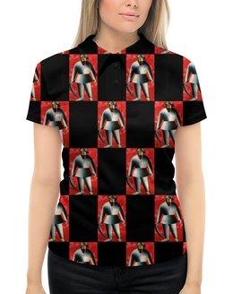 """Рубашка Поло с полной запечаткой """"Косарь (Казимир Малевич)"""" - картина, живопись, авангард, малевич, кубизм"""
