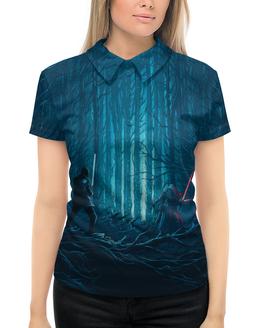 """Рубашка Поло с полной запечаткой """"Звездные войны"""" - кино, фантастика, star wars, звездные войны, дарт вейдер"""