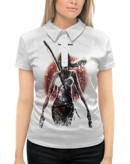 """Рубашка Поло с полной запечаткой """"Лара Крофт"""" - девушка, tomb raider, лара крофт, расхитительница гробниц, томб райдер"""