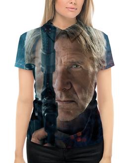 """Рубашка Поло с полной запечаткой """"Звездные войны - Хан Соло"""" - кино, фантастика, star wars, звездные войны, дарт вейдер"""