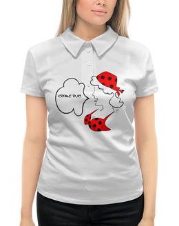 """Рубашка Поло с полной запечаткой """"Сильная и независимая"""" - праздник, 8 марта, девушке, женщине, маме"""