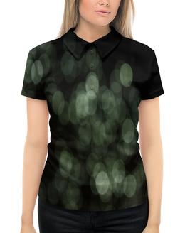 """Рубашка Поло с полной запечаткой """"Световые блики"""" - свет, круги, блики, блеск, солнечные зайчики"""