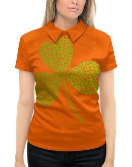 """Рубашка Поло с полной запечаткой """"Без названия"""" - клевер, ирландия, день святого патрика, st patrick day, st patricks day"""