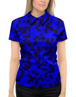 """Рубашка Поло с полной запечаткой """"военные"""" - форма, камуфляж, военные, защитник, маскировка"""