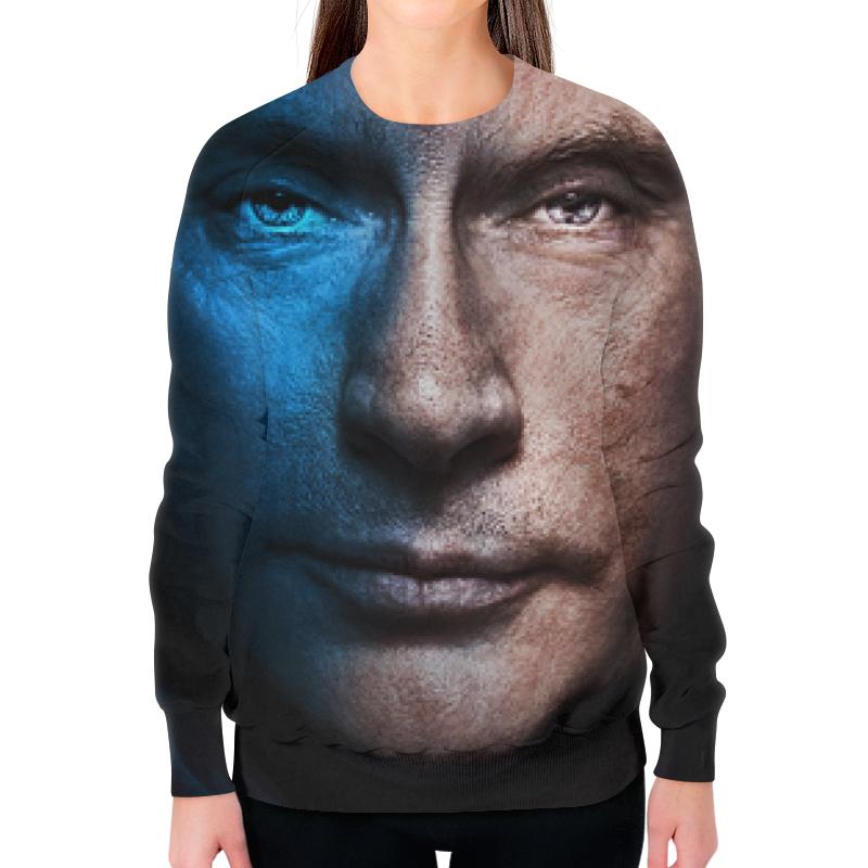 Свитшот женский с полной запечаткой Printio Путин (россия)