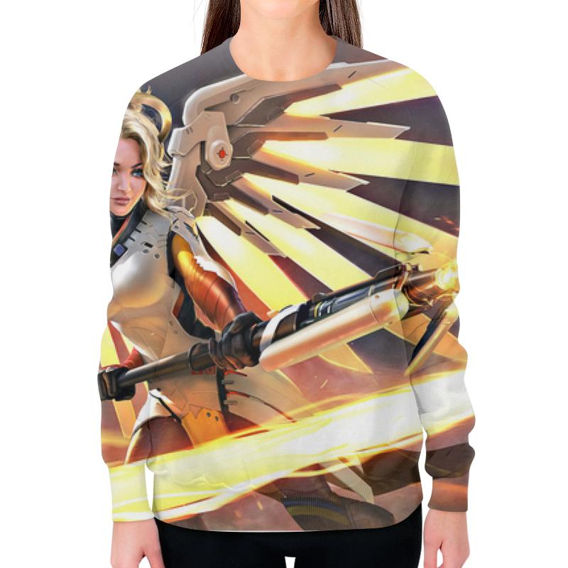 Printio Overwatch свитшот женский с полной запечаткой printio overwatch