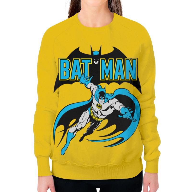 Свитшот женский с полной запечаткой Printio Бэтмен