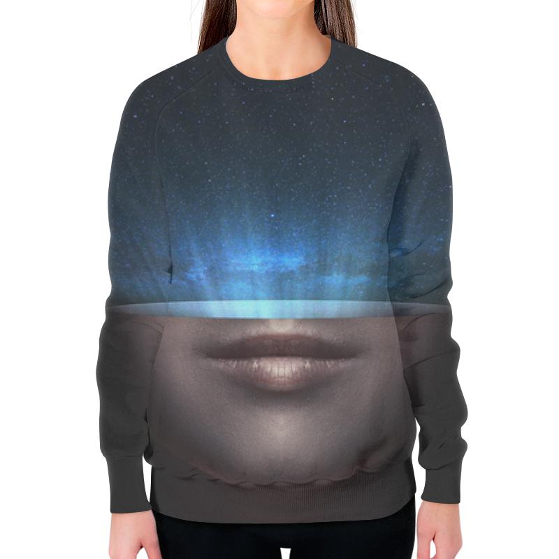 Свитшот женский с полной запечаткой Printio Сила вселенной цена
