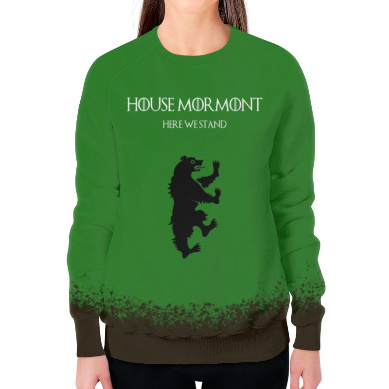 Свитшот женский с полной запечаткой Printio House mormont свитшот print bar house md