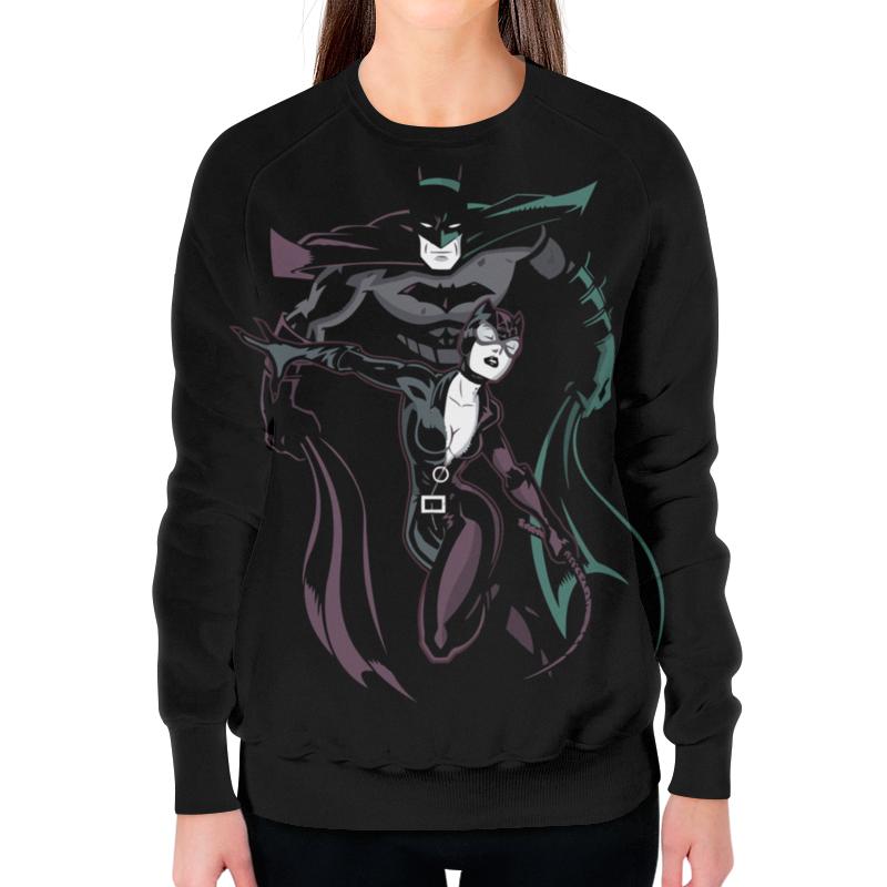 Printio Бэтмен и женщина - кошка свитшот унисекс хлопковый printio женщина кошка