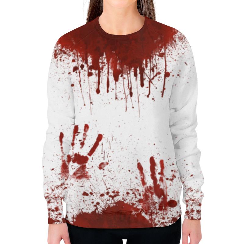 Свитшот женский с полной запечаткой Printio Кровь свитшот print bar 002 слава и кровь