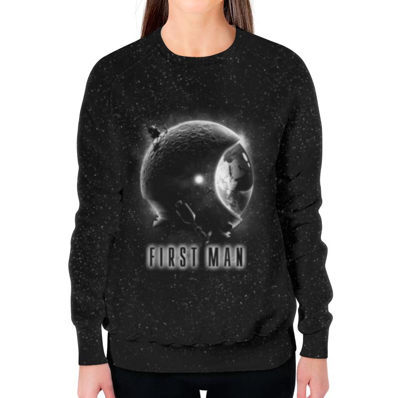 Свитшот женский с полной запечаткой Printio Первый человек свитшот print bar мечты астронавта