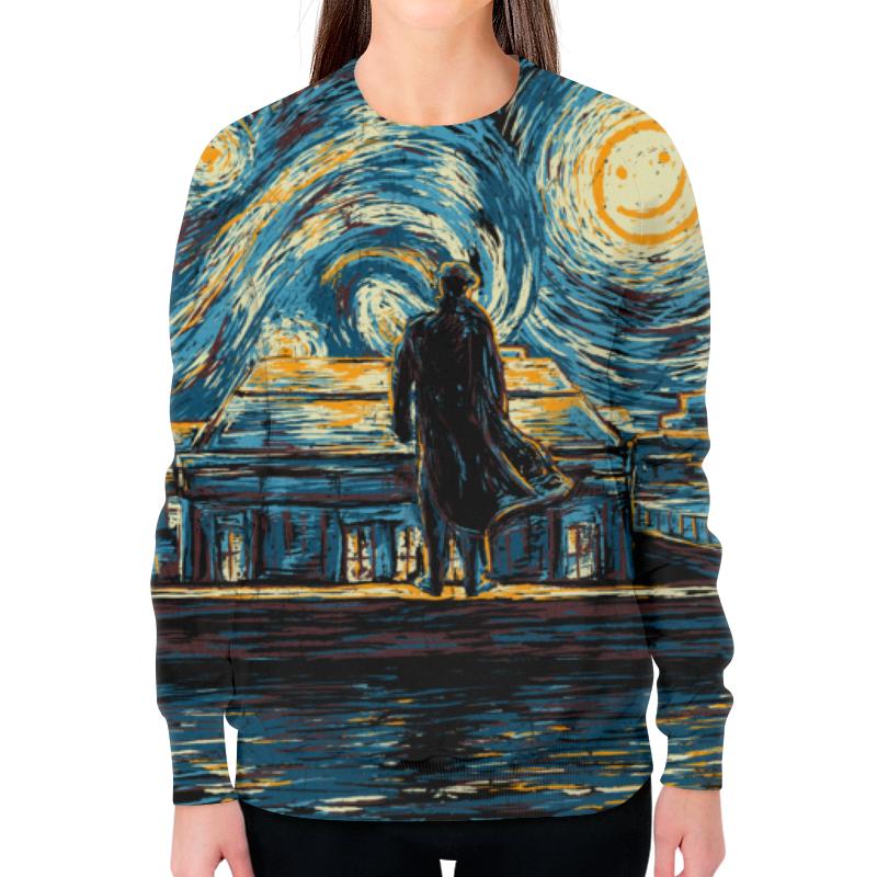 Свитшот женский с полной запечаткой Printio Шерлок женский гардероб