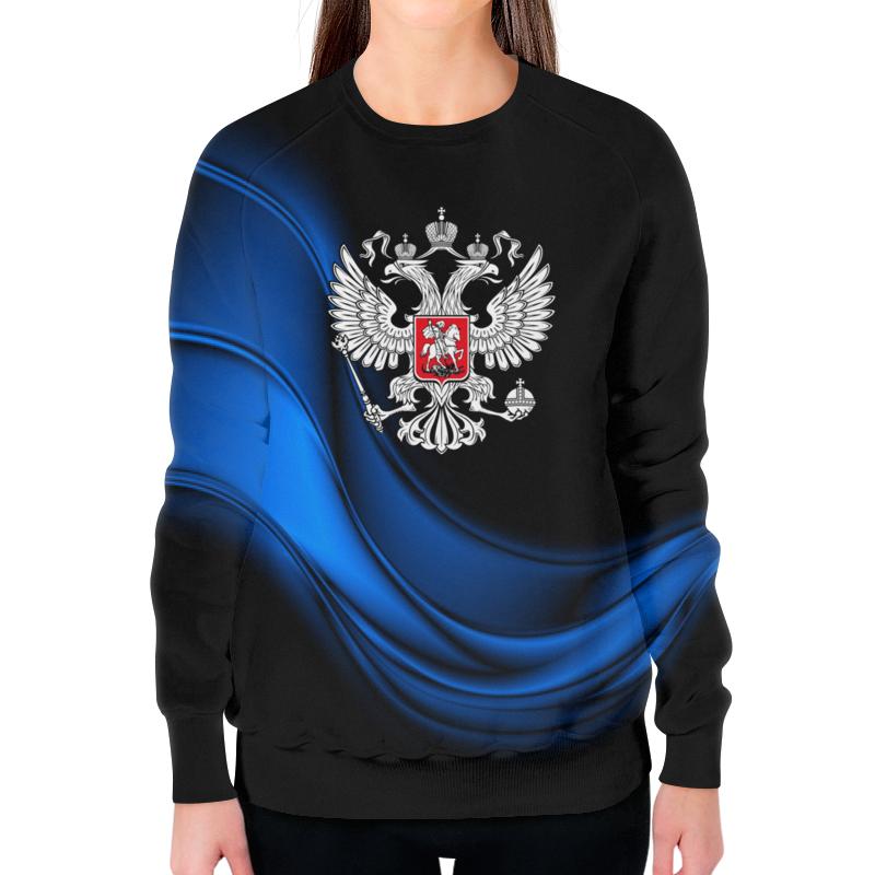 Свитшот женский с полной запечаткой Printio Россия