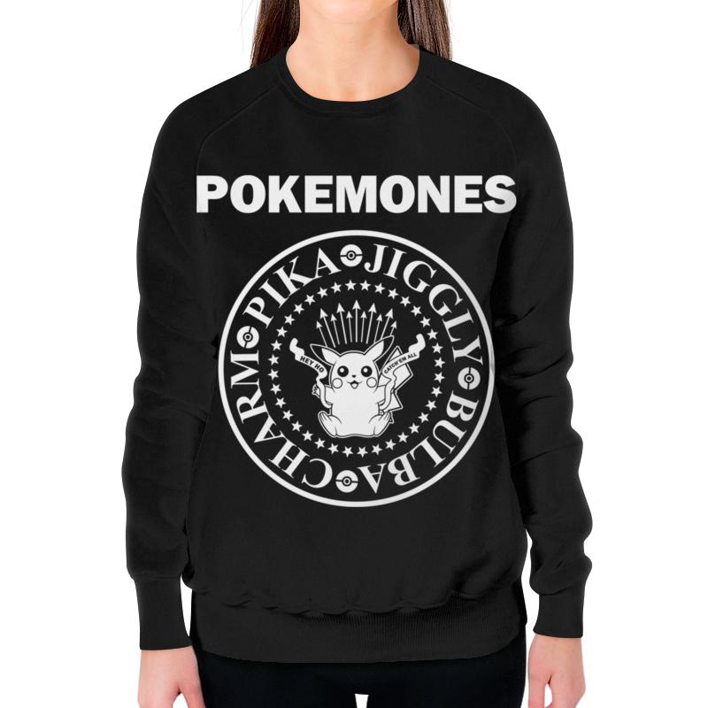 Свитшот женский с полной запечаткой Printio Покемоны свитшот print bar покемоны