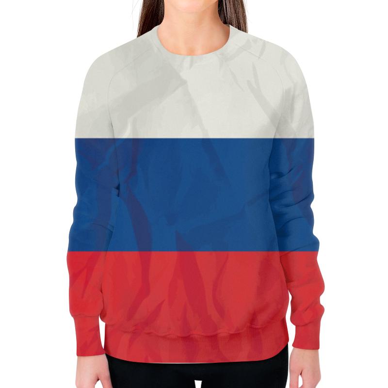 лучшая цена Printio Российский флаг (триколор)