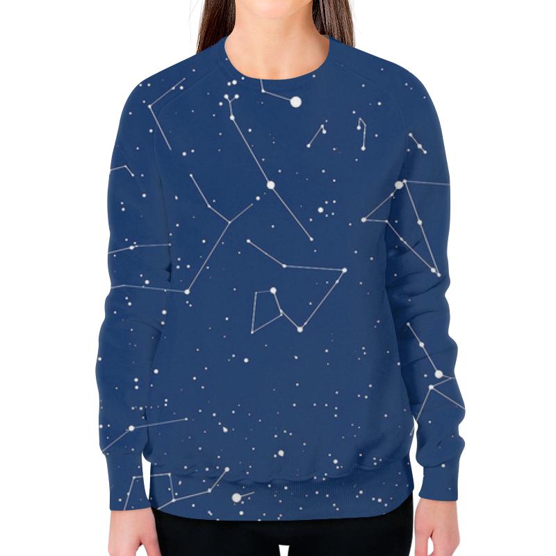 Фото - Свитшот женский с полной запечаткой Printio Вселенная свитшот унисекс с полной запечаткой printio алфавит