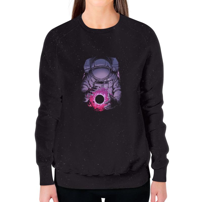 Свитшот женский с полной запечаткой Printio Карманная вселенная цена