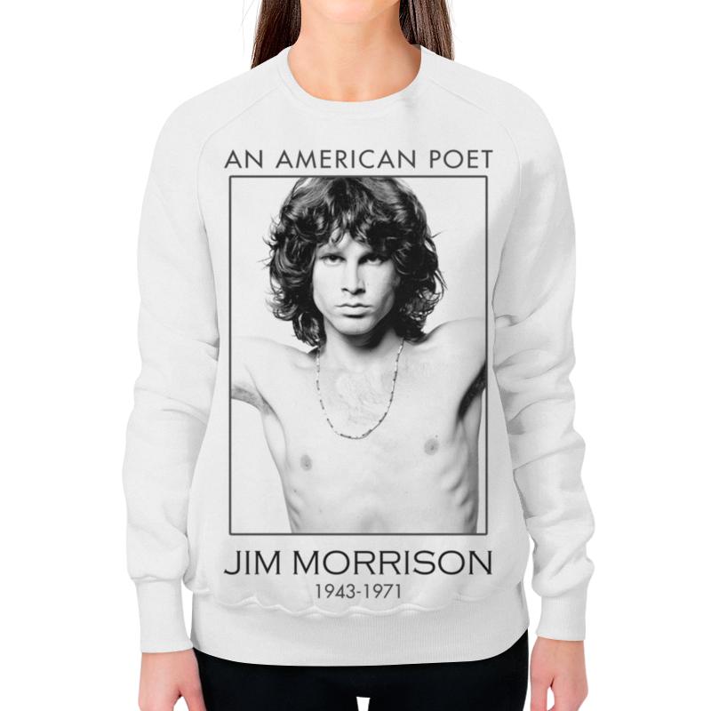 Свитшот женский с полной запечаткой Printio Джим моррисон футболка с полной запечаткой мужская printio джим моррисон the doors