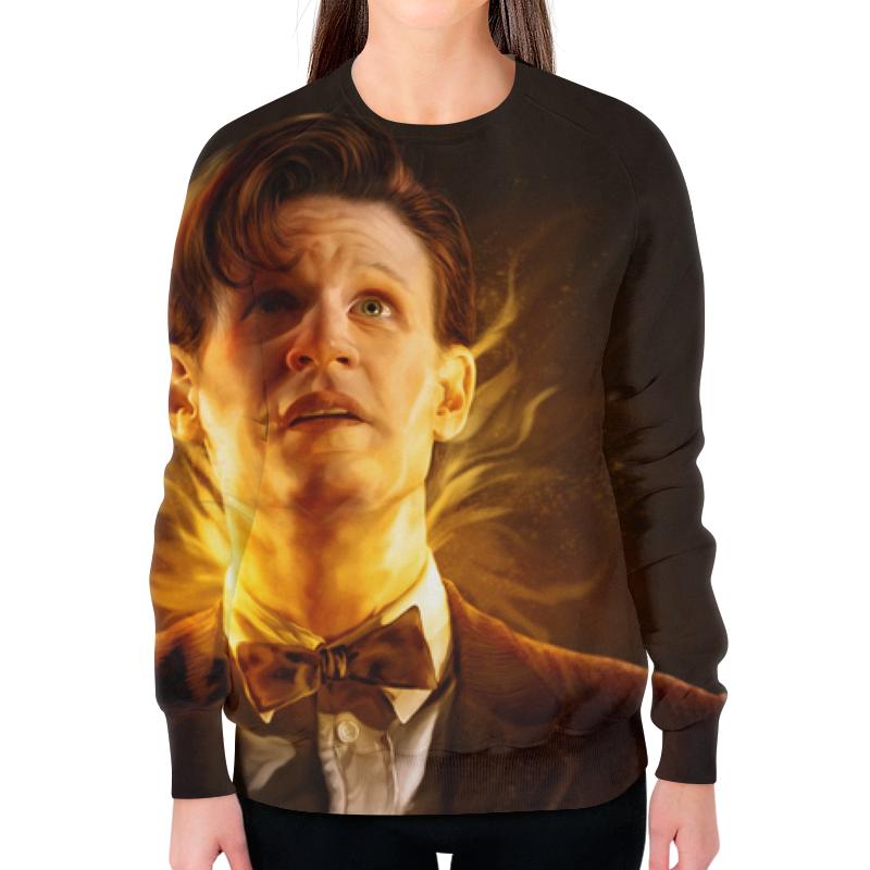 Свитшот женский с полной запечаткой Printio Доктор кто (doctor who) свитшот print bar doctor who