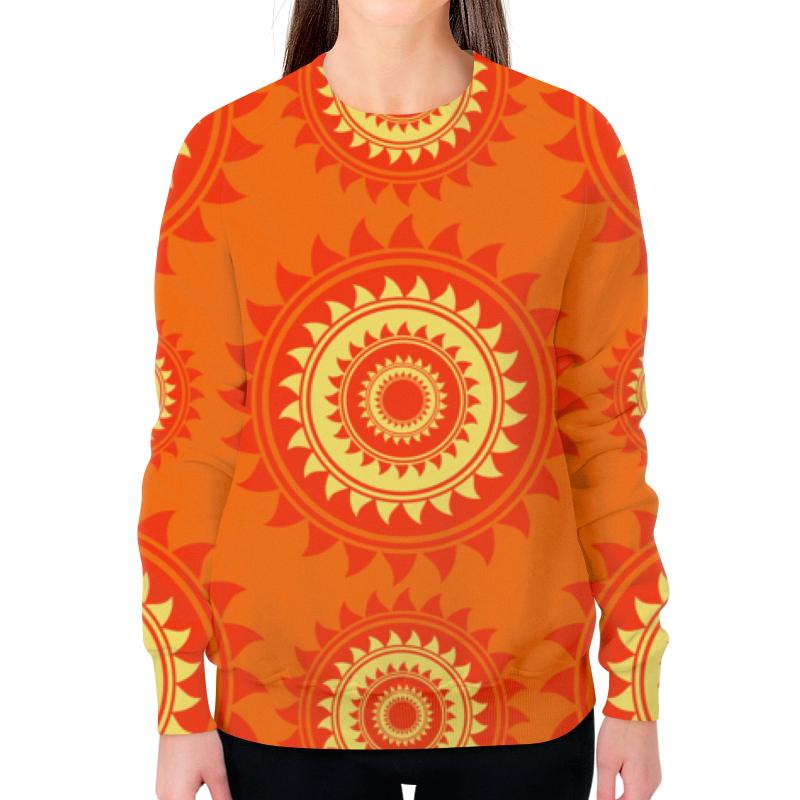 Свитшот женский с полной запечаткой Printio Солнце женский гардероб