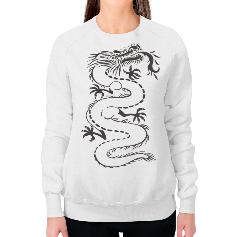 Фото - Printio Китайский дракон свитшот print bar пит и его дракон