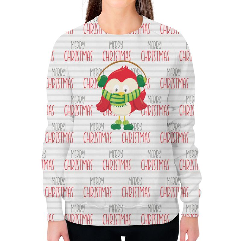 Свитшот женский с полной запечаткой Printio Christmas свитшот print bar christmas fox