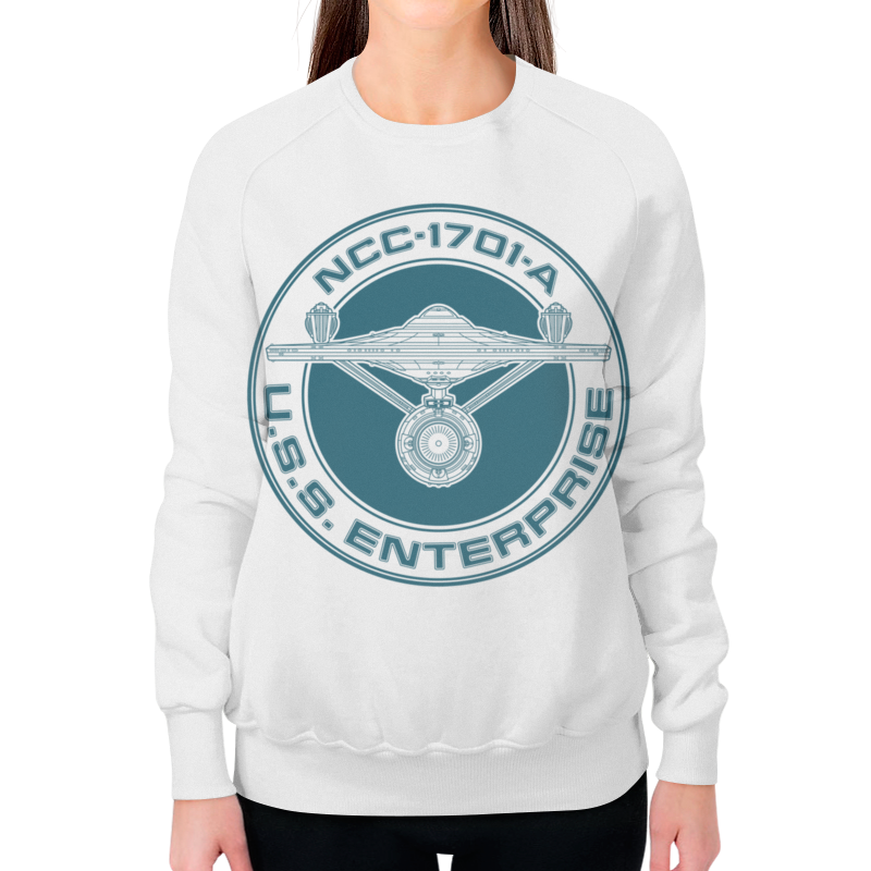Printio Звёздный путь. uss enterprise футболка wearcraft premium slim fit printio звёздный путь uss enterprise