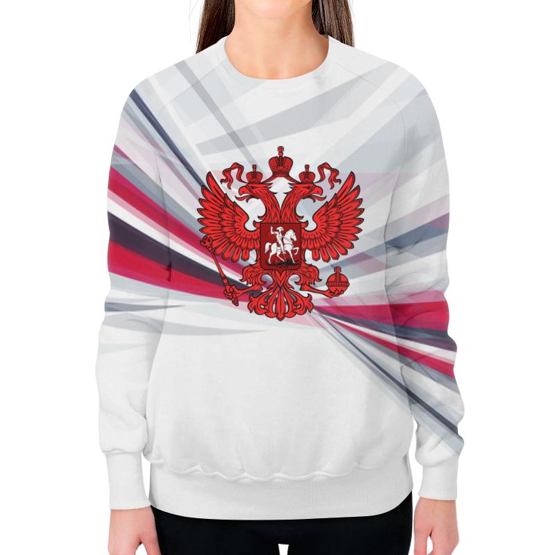 Фото - Printio Россия свитшот женский с полной запечаткой printio путин россия