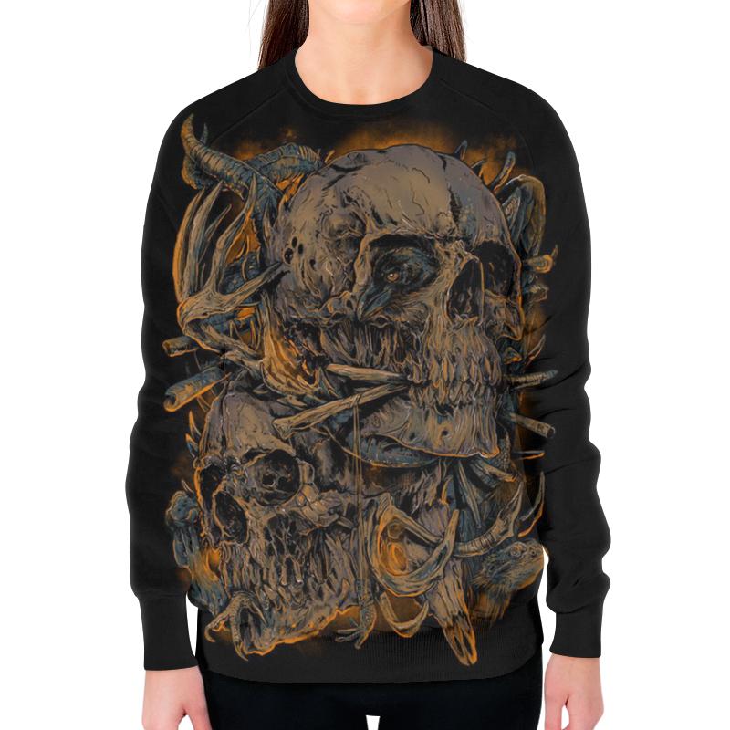 Printio Skull art борцовка с полной запечаткой printio skull art