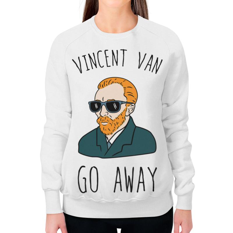Свитшот женский с полной запечаткой Printio Vincent van go away футболка классическая printio vincent van go away