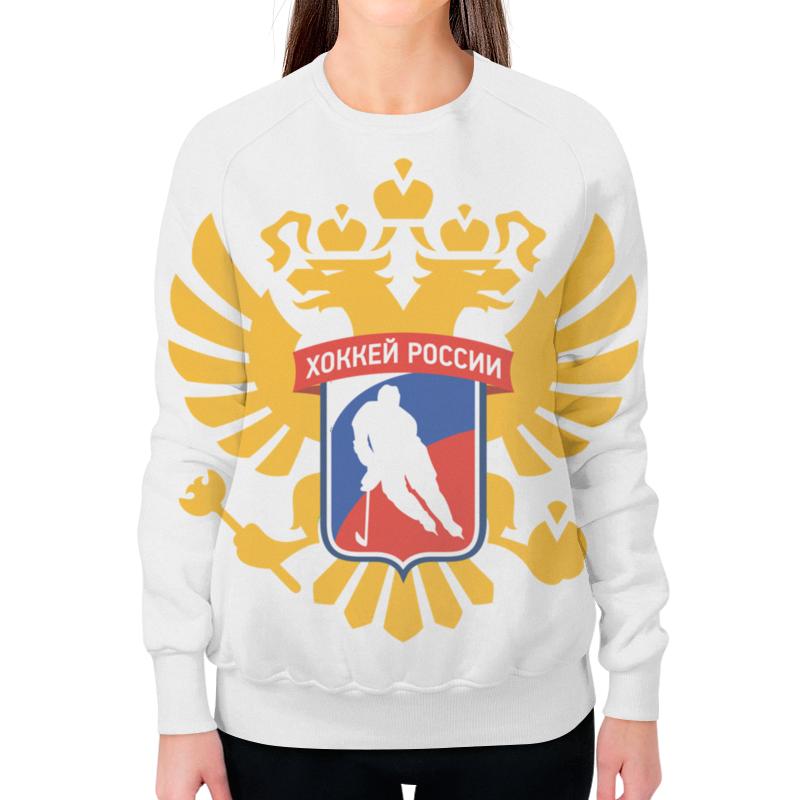 все цены на Свитшот женский с полной запечаткой Printio Красная машина - хоккей россии онлайн