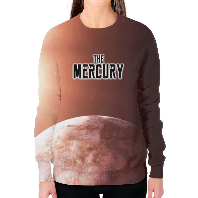 Printio The mercury (the planet) свитшот женский с полной запечаткой printio рик и морти the flesh curtains