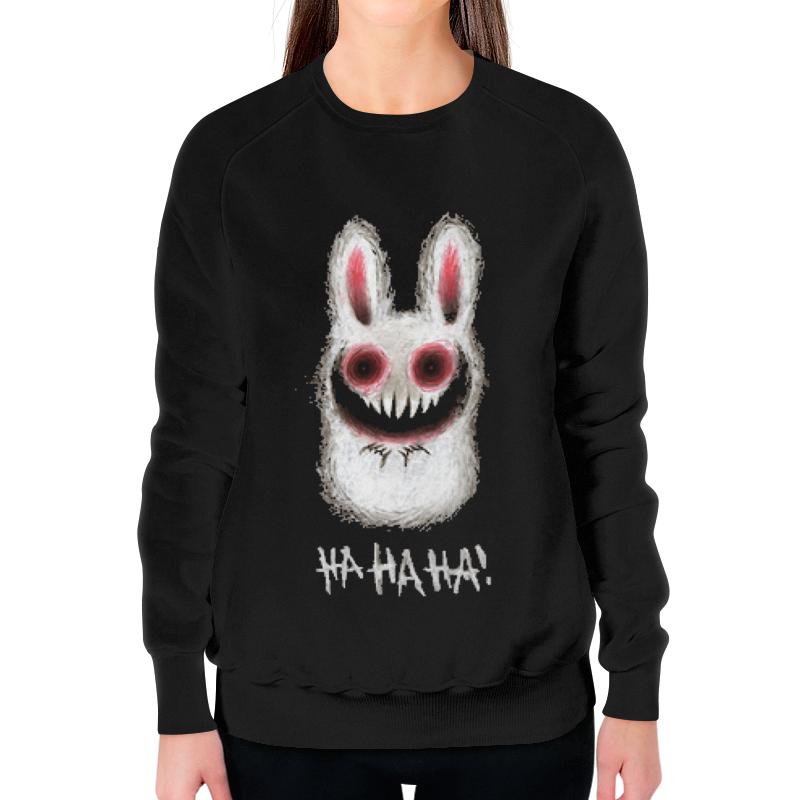 Printio Rabbit свитшот женский с полной запечаткой printio юпитер