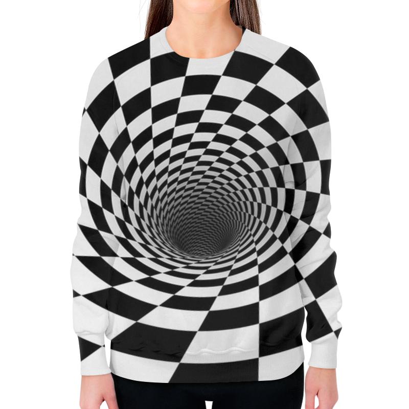 цена на Printio Воронка шахматная. черное и белое.