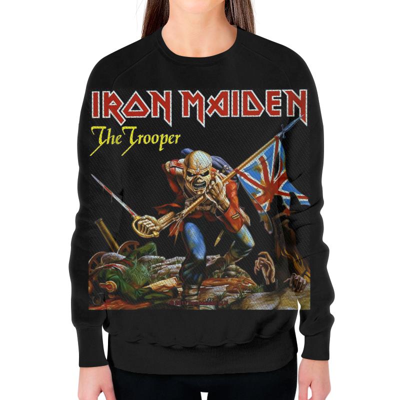 Свитшот женский с полной запечаткой Printio Iron maiden band футболка с полной запечаткой мужская printio iron maiden