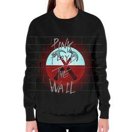 "Свитшот женский с полной запечаткой ""Pink Floyd The Wall"" - стена, рок музыка, пинк флойд, pink floyd, the wall"