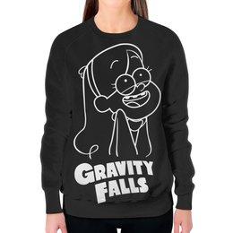 """Свитшот женский с полной запечаткой """"Мэйбл Пайнс"""" - мультфильм, gravity falls, гравити фолз, мэйбл пайнс"""