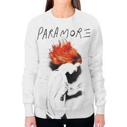"""Свитшот женский с полной запечаткой """"Paramore"""" - музыка, рок, панк, группы, paramore"""