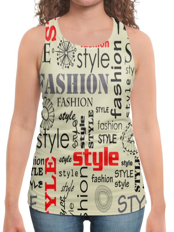 Борцовка с полной запечаткой Printio Fashion style fashion style