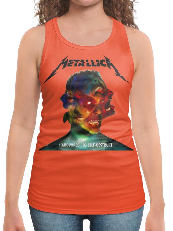Борцовка с полной запечаткой Printio Metallica band футболка с полной запечаткой женская printio metallica band