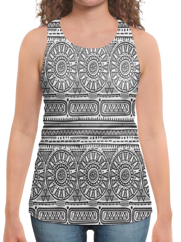 Printio Черно-белый орнамент юбка в складку printio черно белый орнамент