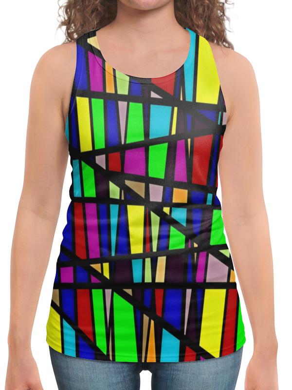 Борцовка с полной запечаткой Printio Line линии юбка в складку printio line линии
