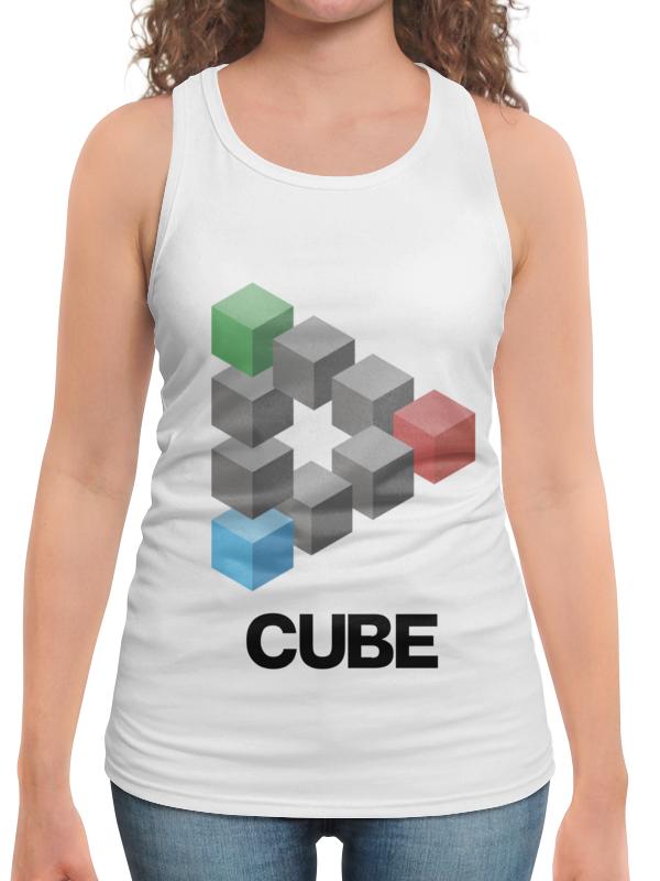 Борцовка с полной запечаткой Printio Symbol cube
