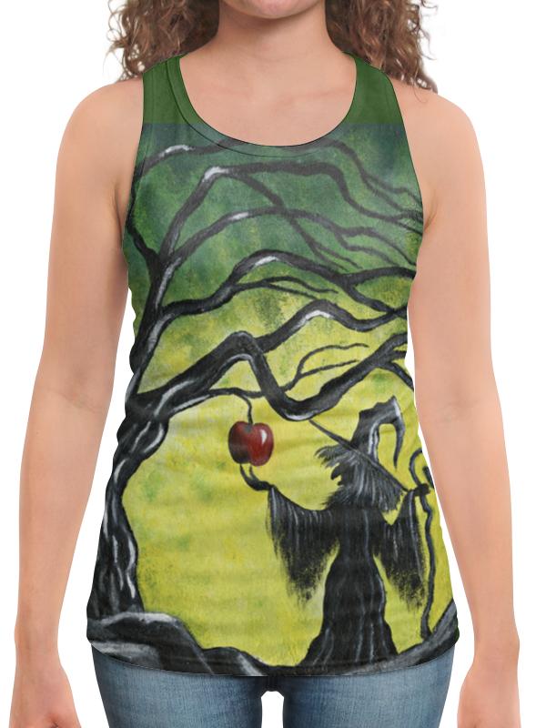 Борцовка с полной запечаткой Printio Заколдованное яблоко футболка с полной запечаткой для девочек printio заколдованное яблоко