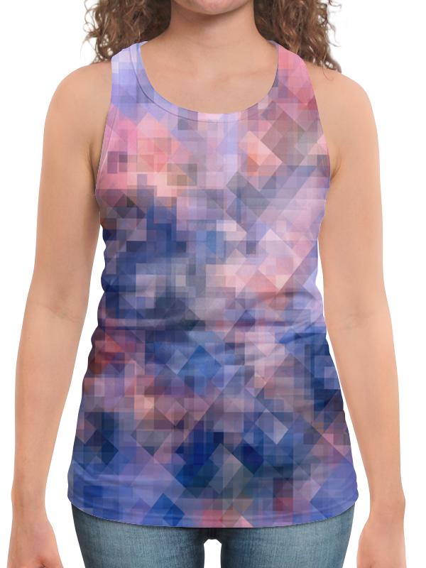 Борцовка с полной запечаткой Printio Пиксель-арт. сине-розовый паттерн волченко ю с пиксель арт